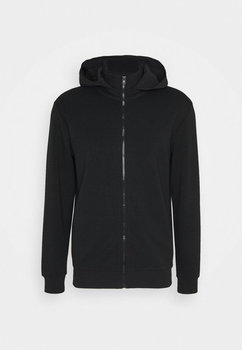 Carlo Colucci - Zip-up hoodie - schwarz