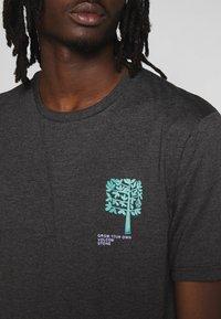 Volcom - GROWN HTH SS - Camiseta estampada - anthracite - 3
