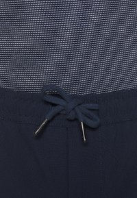 KnowledgeCotton Apparel - FIG CLUB PANT  - Tygbyxor - total eclipse - 4