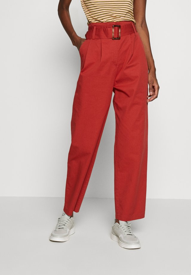 OBJWELA PANT TALL - Trousers - tandori spice