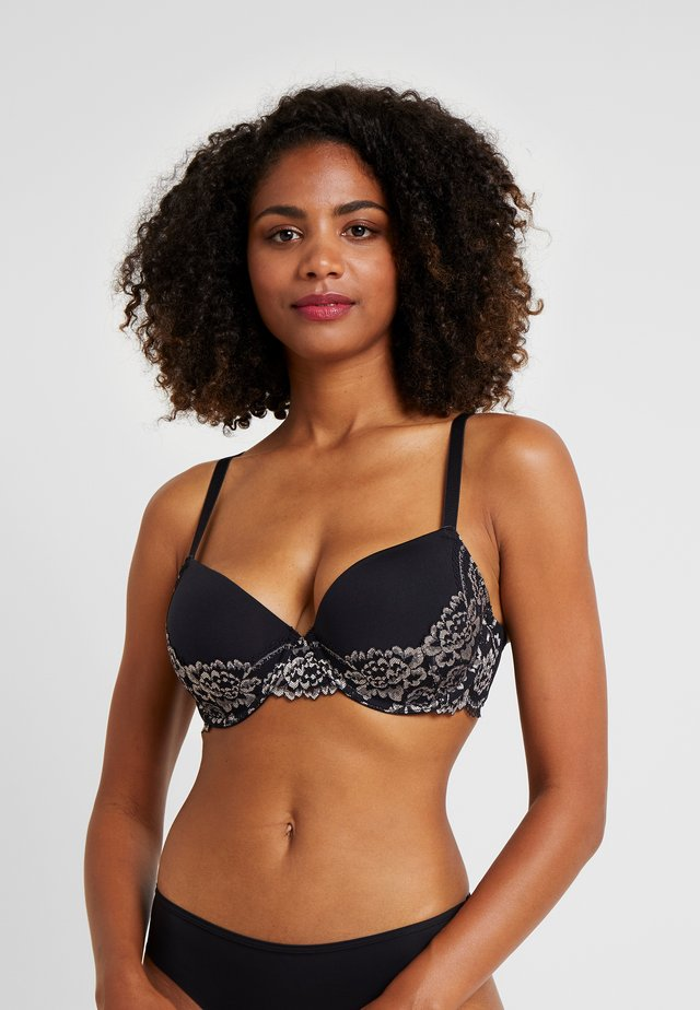 CLAIRE BRA - Underwired bra - black
