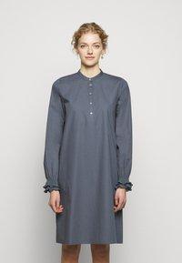 Bruuns Bazaar - POSY EBEN DRESS - Shirt dress - graystone - 4