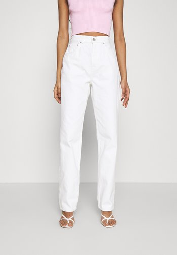 HIGH WAIST - Jeans relaxed fit - offwhite