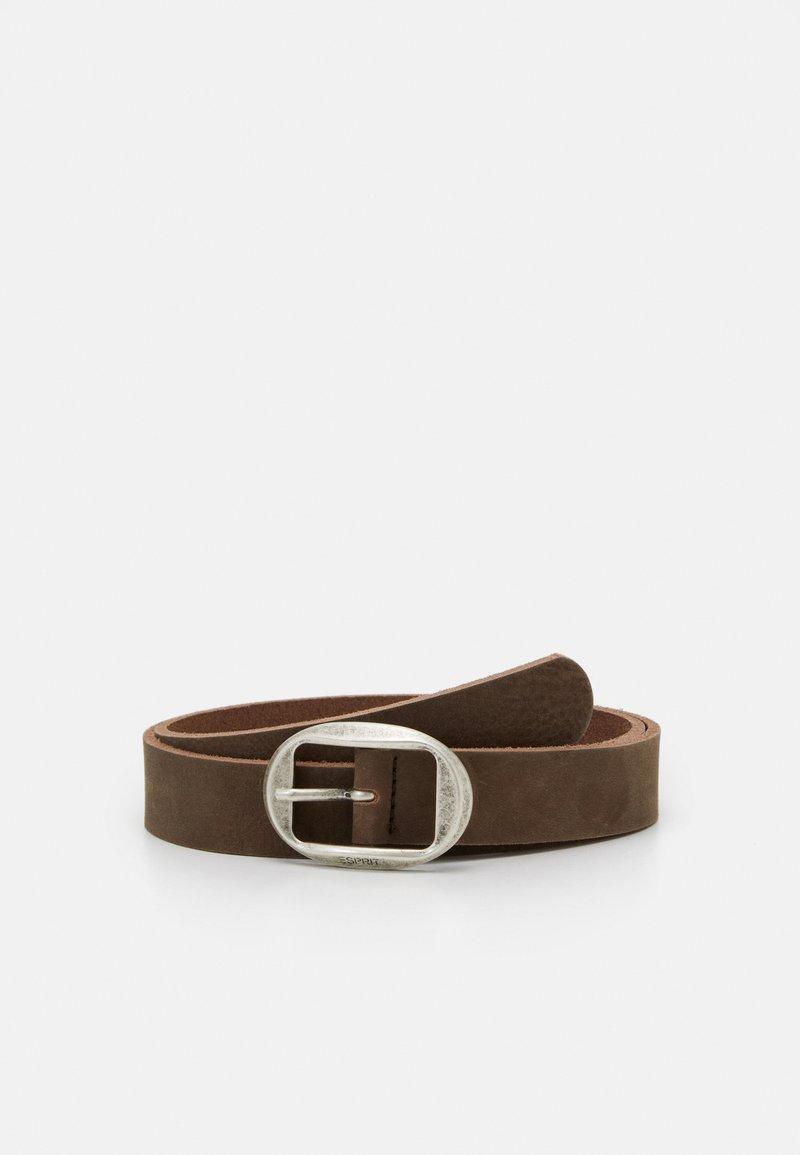 Esprit - ARIA BELT - Belt - brown