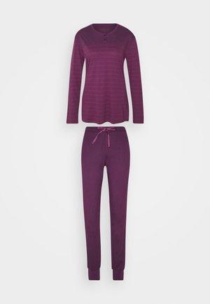 ANZUG LANG - Pyjamas - pflaume