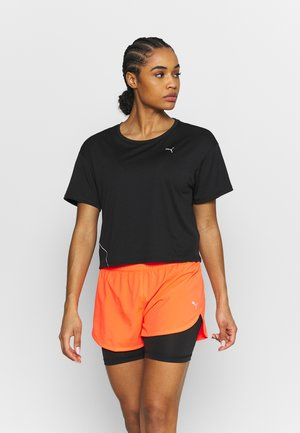 RUN COOLADAPT TEE - T-shirt basic - black