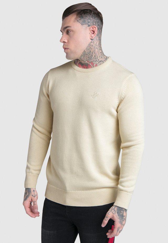 CREW - Strickpullover - off white