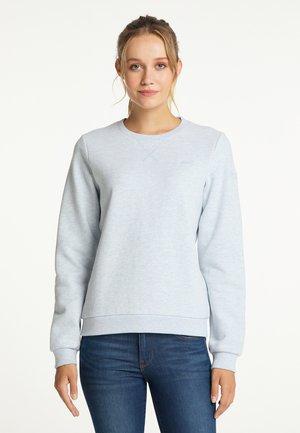 Sweatshirt - rauchblau melange