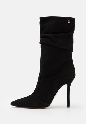 MARILYN - Kozačky na vysokém podpatku - black