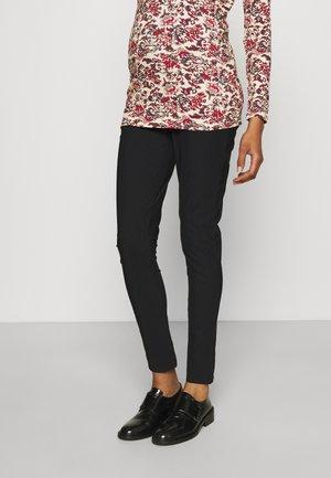 PANTS HENSEN - Trousers - black