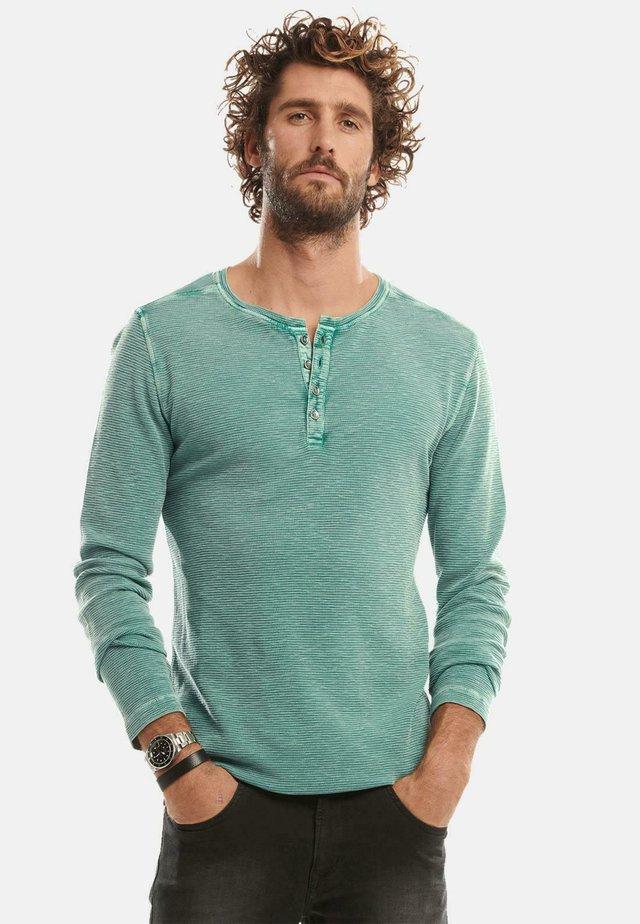 Long sleeved top - türkis
