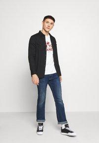 Pepe Jeans - ALFIE - Flared Jeans - dark-blue denim - 1