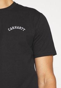 Carhartt WIP - UNIVERSITY SCRIPT  - Basic T-shirt - black/white - 5