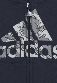 adidas Performance - FAVOURITES TRAINING SPORTS TRACKSUIT BABY SET - Dres - legend ink/grey three - 4