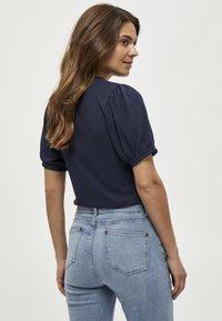 Minus - JOHANNA  - T-shirt basic - dark blue - 1
