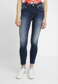 ONLY - ONLBLUSH - Jeans Skinny Fit - dark blue denim - 0
