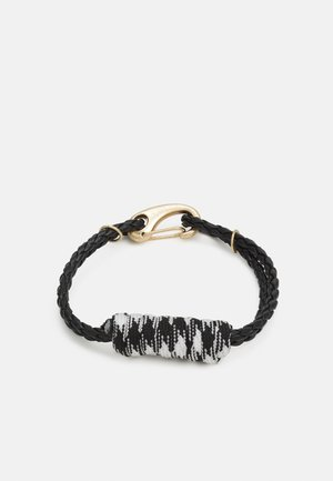 SCALING HEIGHTS WRAPPED BEACELET - Bracelet - black