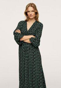 Mango - Maxi dress - groen - 0