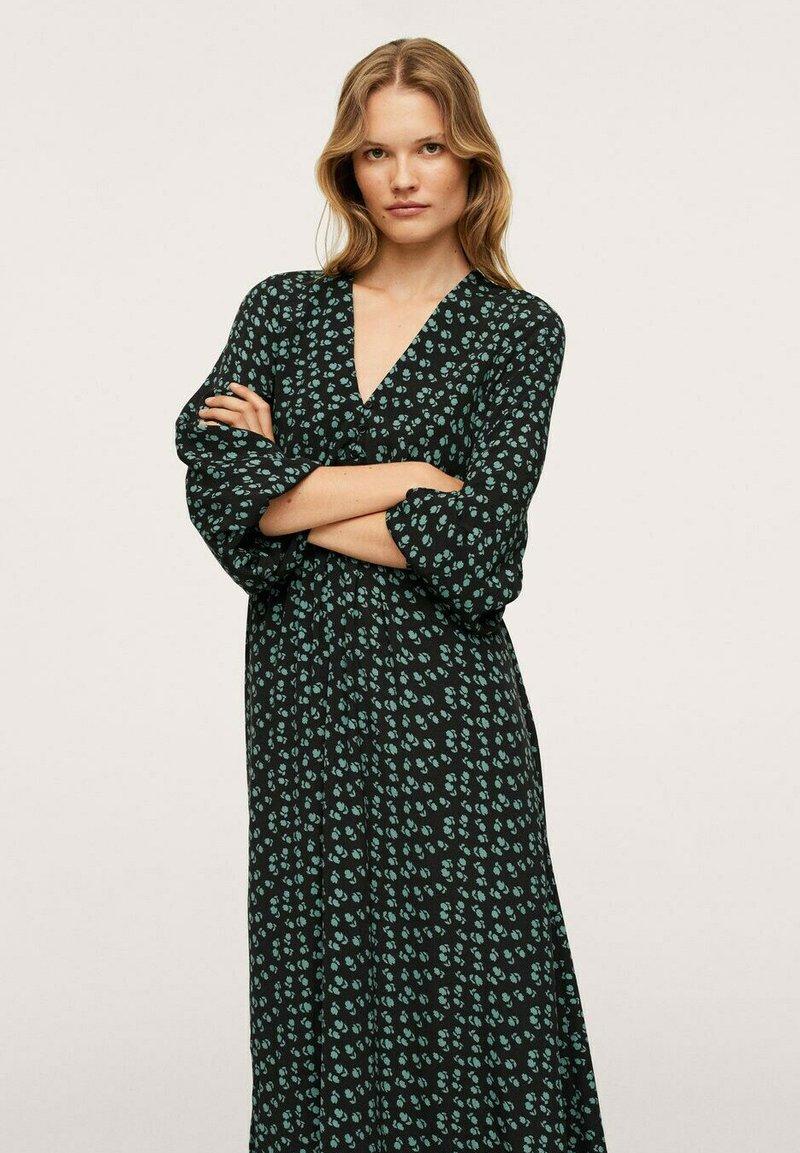 Mango - Maxi dress - groen
