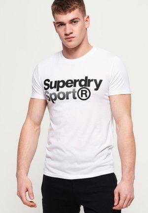 MIT GRAFIK - T-shirt print - white