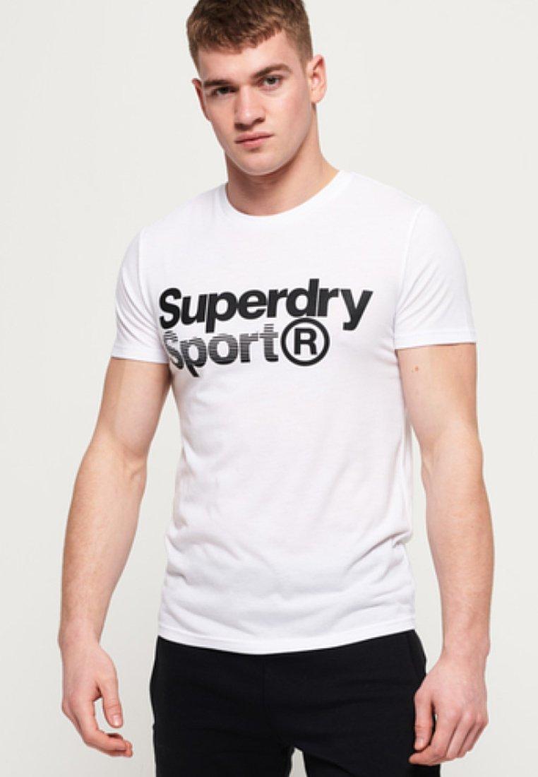 Superdry - MIT GRAFIK - T-shirts print - white