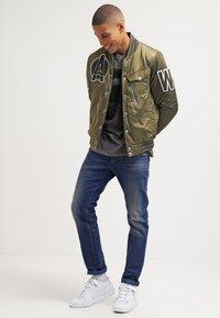 G-Star - 3301 SLIM - Jeans Slim Fit - medium aged - 1