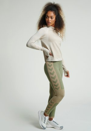 SEAMLESS - Tights - vetiver melange
