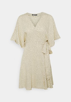 DOLLY SHORT DRESS - Day dress - creme
