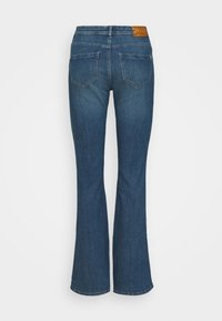 ONLY - ONLWAUW LIFE  - Flared Jeans - medium blue - 1