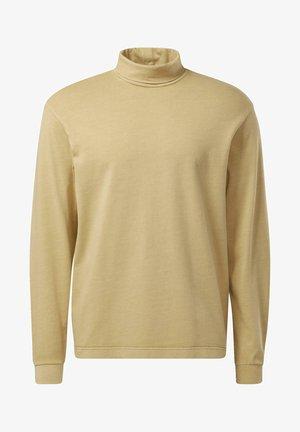 CLASSIC NATURAL DYE TURTLE NECK SEASONAL - Långärmad tröja - beige