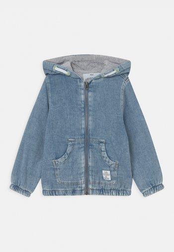 HOOD - Denim jacket - blue denim