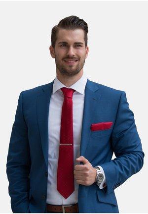 SET - Cravatta - rot kariert