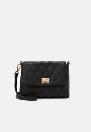 PCCLAIRE CROSS BODY - Across body bag - black