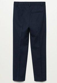 Mango - Suit trousers - dark navy - 1