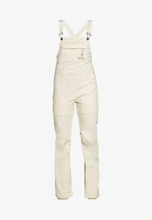 AVALON BIB BARREN - Snow pants - creme brulee