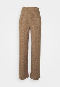 CIEL BRUSHED  - Trousers - camel melange