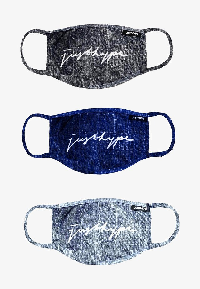 3 PACK  - Community mask - grey/blue/ light blue