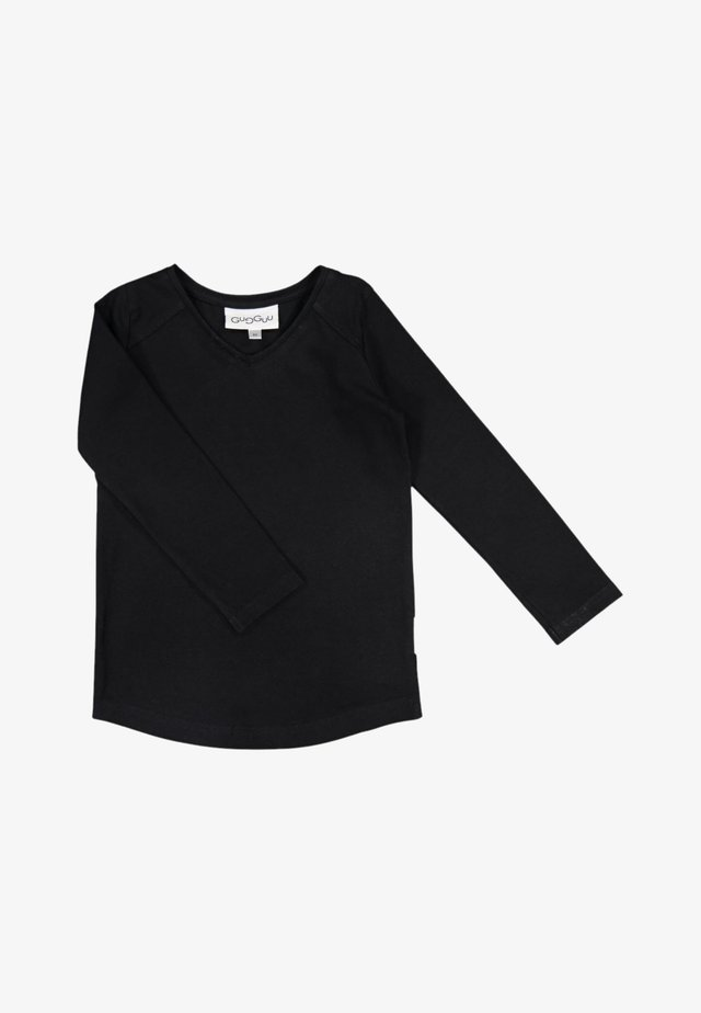 LONG SLEEVED SHIRT WISION - Long sleeved top - black