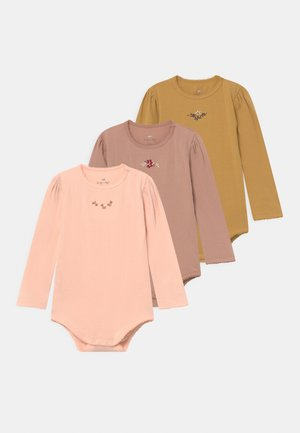 EMBROIDERY 3 PACK UNISEX - Body - rosy/roebuck/mustard