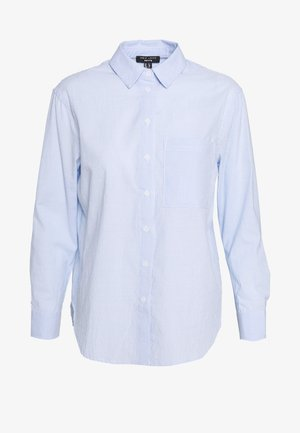 FREDDIE STRIPE - Button-down blouse - blue