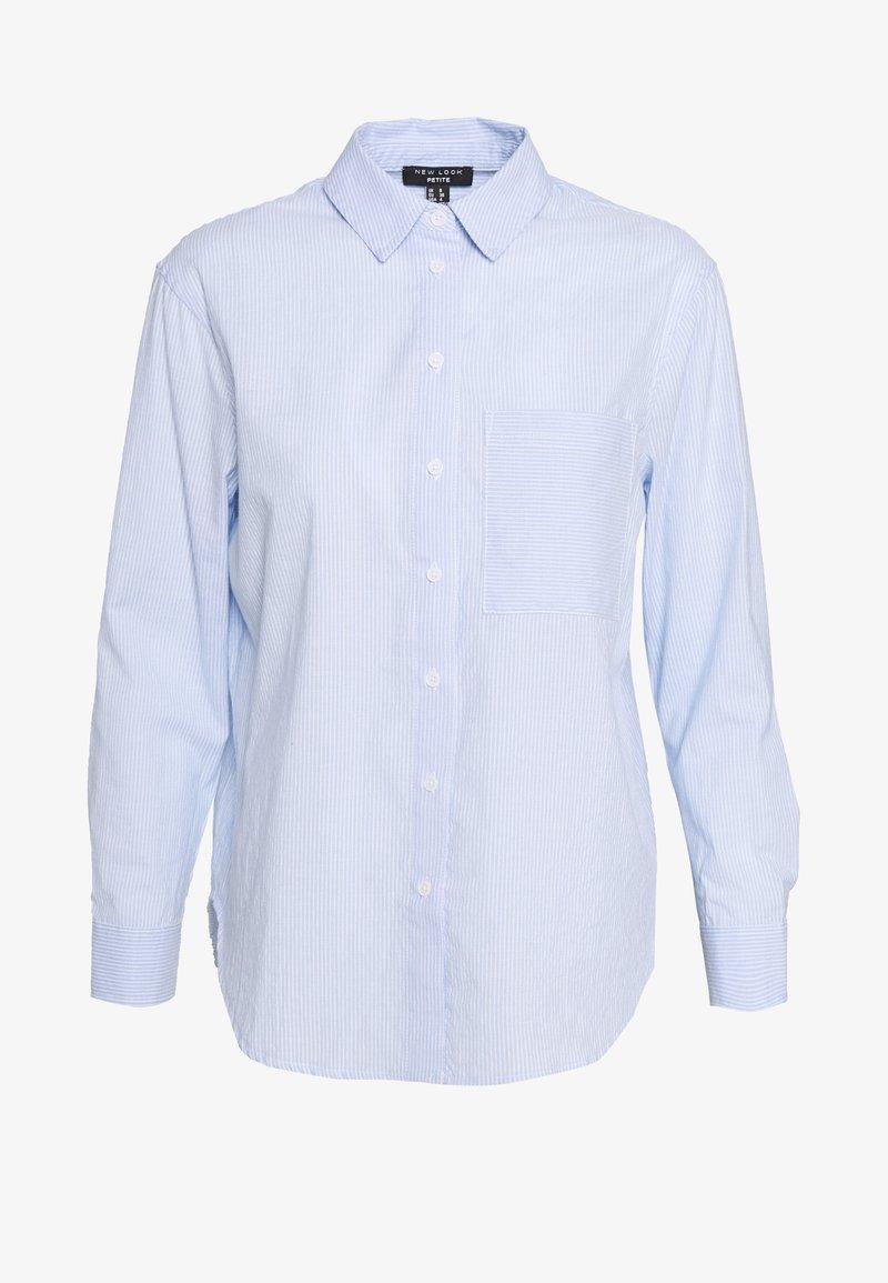New Look Petite - FREDDIE STRIPE - Button-down blouse - blue