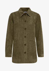 Fransa - FRMACORDUROY - Summer jacket - dark olive - 5