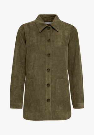 FRMACORDUROY - Summer jacket - dark olive