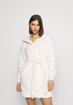 LOUNGING ROBE - Dressing gown - almond butter