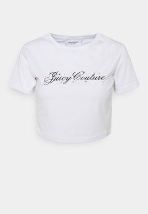 SCRIPT SOPHIE - Print T-shirt - white