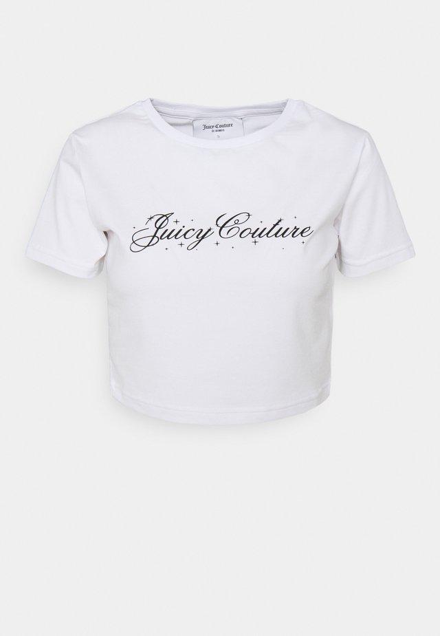 SCRIPT SOPHIE - T-shirt print - white