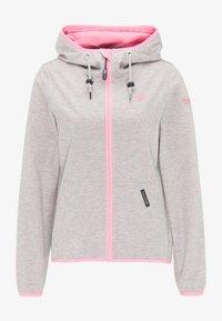 Schmuddelwedda - Light jacket - hellgrau mel pink - 4