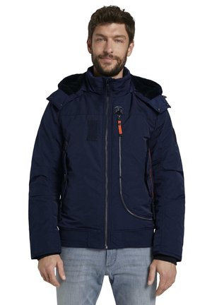 Outdoor jacket - sky captain blue