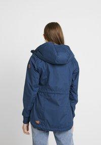 Ragwear - DANKA - Kort kåpe / frakk - blue - 2