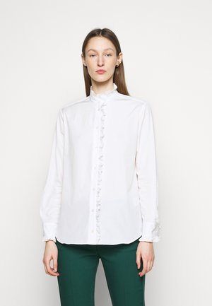 AFGANO - Button-down blouse - weiss